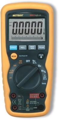 Metravi METRASAFE-18 Digital Multimeter(Yellow, Black 8000 Counts)