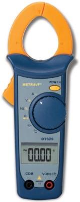 METRAVI DT-625 Digital Clamp Meter Digital Multimeter(Yellow, Blue 4000 Counts)