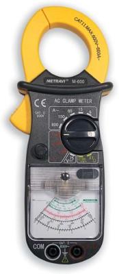 Metravi M-600 Analogue Clamp Meter Digital Multimeter(4000 Counts)