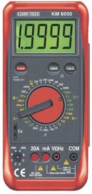 Kusam Meco KM 6050 Digital Multimeter(Red 8000 Counts)