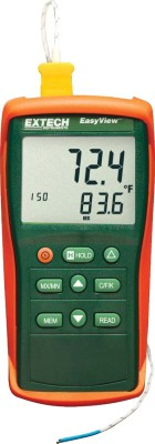 Extech EA11A EasyView Type K Single Input Thermometer Digital Multimeter