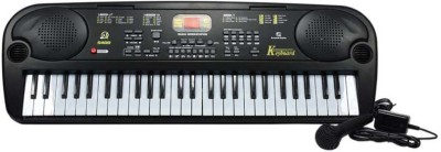 V.T. 54-Key Electronic Keyboard with Microphone & LED Display Music Box