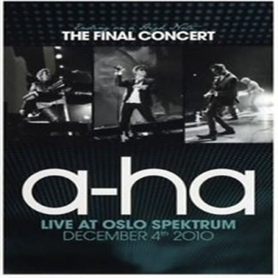a-ha: Ending On A High Note - The Final Concert [DVD] DVD Standard Edition