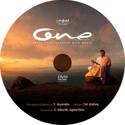 ONE - EXPERIENCE THE ONENESS WITH MUSIC DVD Standard Edition(Telugu - T.M.KRISHNA)