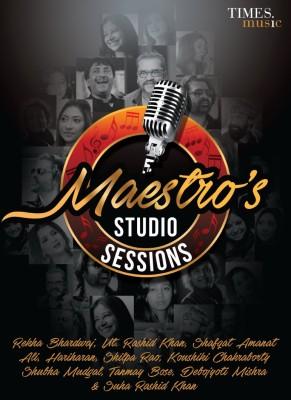MAESTRO,S STUDIO SESSIONS Audio CD Standard Edition(Hindi - HARIHARAN, REKHA BHARDWAJ, USTAD RASHID KHAN, KAUSHIKI CHAKRABORTY, SHUBHA MUDGAL, SHAFQAT AMANAT ALI, SHILPA RAO, SUHA KHAN)