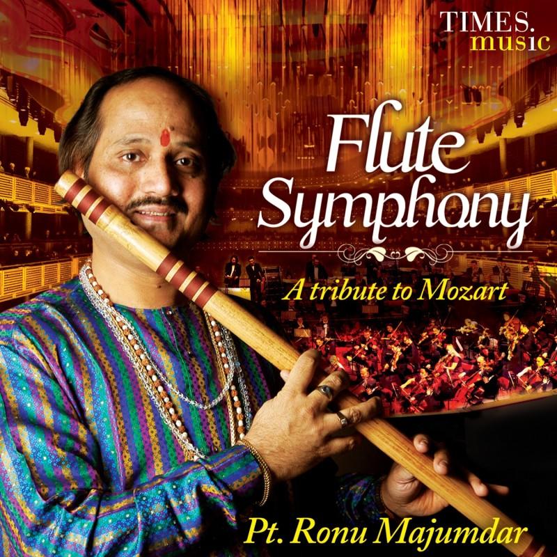 FLUTE SYMPHONY - A TRIBUTE TO MOZART Audio CD Standard Edition(Hindi - RONU MAJUMDAR)