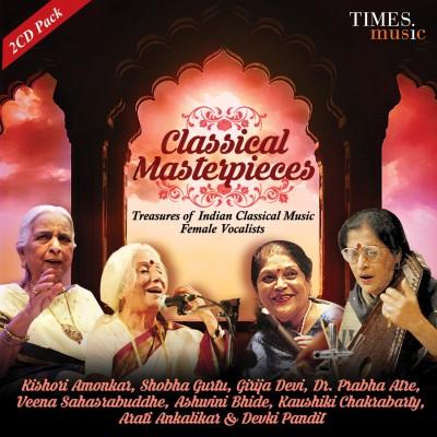 CLASSICAL MASTERPIECES-FEMALE VOCALISTS Audio CD Standard Edition(Hindi - KISHORI AMONKAR, SHOBHA GURTU, GIRIJA DEVI, PRABHA ATRE, VEENA SAHASRABUDDHE, ASHWINI BHIDE, KAUSHIKI CHAKRABARTY, ARTI ANKALIKAR, DEVAKI PANDIT)