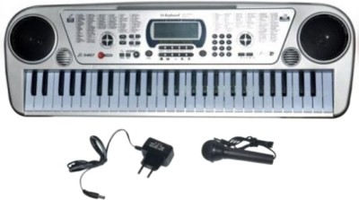 V.T. 54-Key Bandstand Electronic Keyboard with LED Display and Stereo Music Box