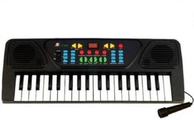 Prostuff Melody Electronic Musical Keyboard 37 Keys Piano With Mic (Black, White)(Multicolor)