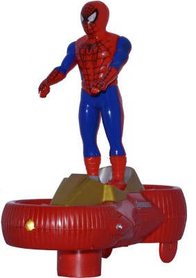 Toyzstation Spiderman Avengers 2 Car with Figure