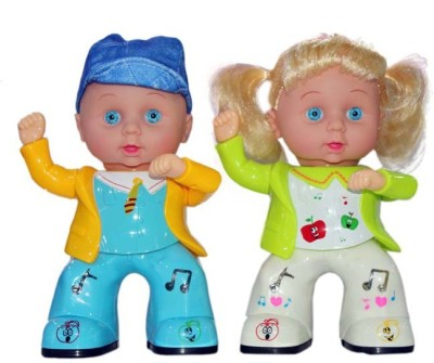 Scrazy Apple Smart Boy & Girl With Music Light and Dancing
