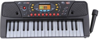 Darling Toys 37 Keys Electronic Melody Musical Keyboard Piano for Kids(Black)