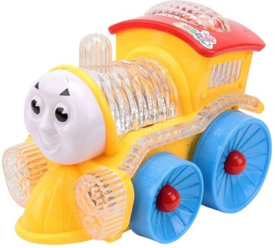 zaprap Light And Sound Musical Funny Loco Engine For Kids
