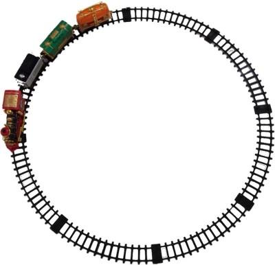 Turban Toys Battery Operated Smoke Emitting Classical Choochoo Train With Light & Sound