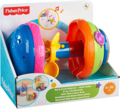 Fisher-Price Bat & Crawl Rollerbar