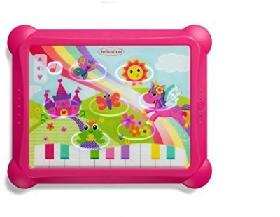 Infantino Sparkle Lights And Sounds Musical Touch Pad