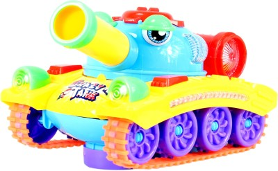 Planet of Toys Musical Crazy Army Tank