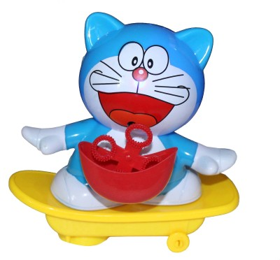Scrazy Doraemon Electric Bubble Dancing Car With Music And Lights