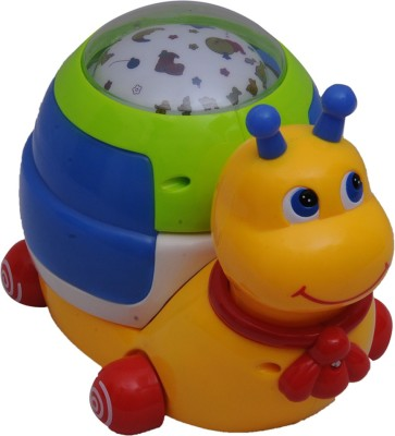 HAPPY KIDS Snail With Projection Light And Music
