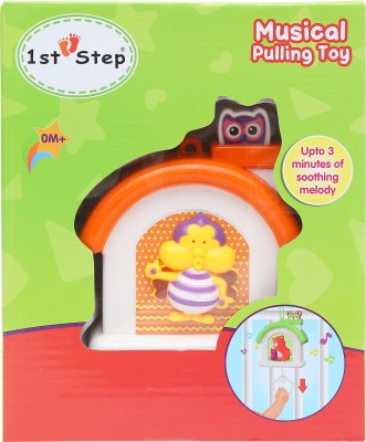 1st Step Musical Pulling Toy(Multicolor)