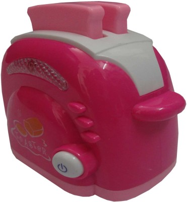 Darvesh Household Popup Toaster(Pink)
