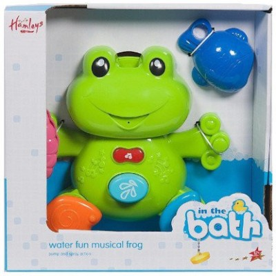 Hamleys Water Fun Squirt N Sing Frog