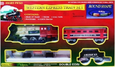 little champs western express train set