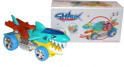 Scrazy Scrazy Electric Cartoon Shark Raid Toy with Lights And Music