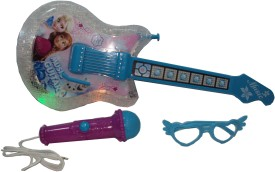 Parteet Musical Guitar with Flashing Lights and Other Accessories for Kids(Multicolor)