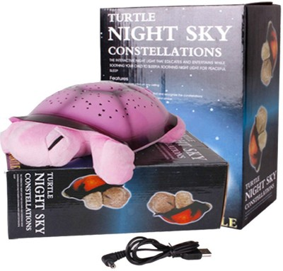 ShopMeFast Turtle Night Sky Constellation Projector Light Lamp With USB Cable