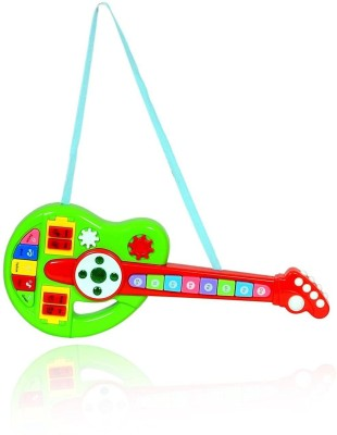 Shop & Shoppee Cartoon Musical Interactive Guitar for Kids