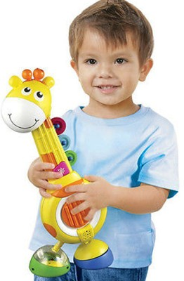 Bkids Musical Giraffe Quartet(Yellow)