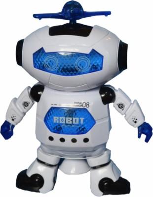 Tara Lifestyle Dancing Robot With Colourful Flashing Light