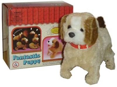 Shop & Shoppee Jumping Musical Puppy(Multicolor)