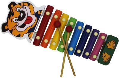 Shopat7 Cute Tiger Handle Xylophone