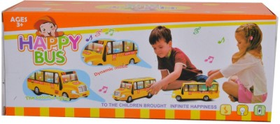 VENUS-PLANET OF TOYS Happy Bus With Dynamic Music & The Colourful Lights For 4-6 Years