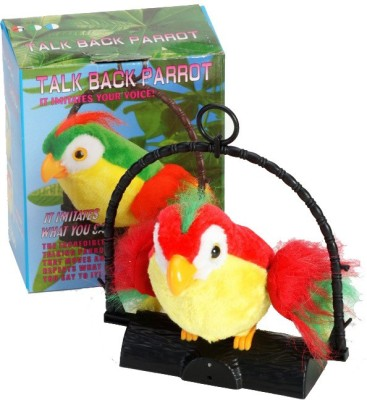 FairToys Talk Back Parrot - Battery Operated Toy