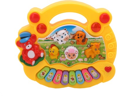 Babytintin Baby farm animal piano with real animal sound