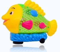 Planet of Toys Dancing Musical Fish With Lights(Yellow, Blue)