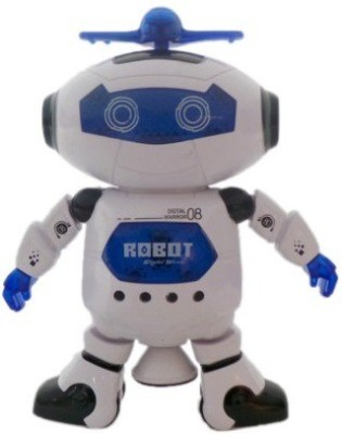 Unica Dancing Robot Toy with Music and Flashing Light