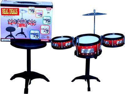 Real Deals Jazz Drum Music World With Stool