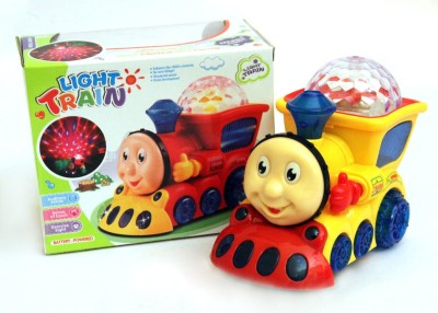 Smiles Creation Train with 4D light And music