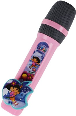 Just Toyz Dora the Explorer Singing Star Microphone with Music and Song