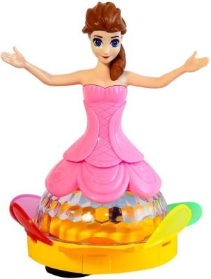Toyzstation 3D Light Music Dancing Princess Girl Robot