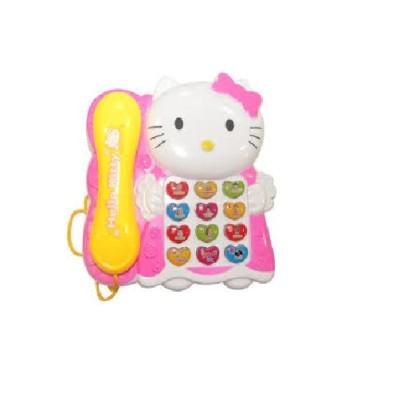 RREnterprizes Musical Telephone Hello Kitty