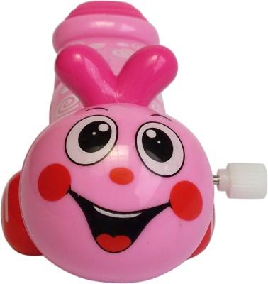 Abhika Studio Pink Happy Worm Toy