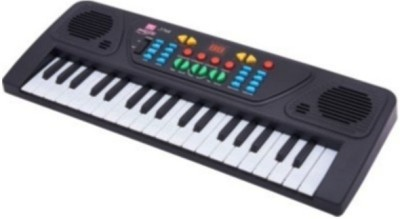 Zeemon Melody Electronic Musical Keyboard 37 Keys Piano With Mic(Black)