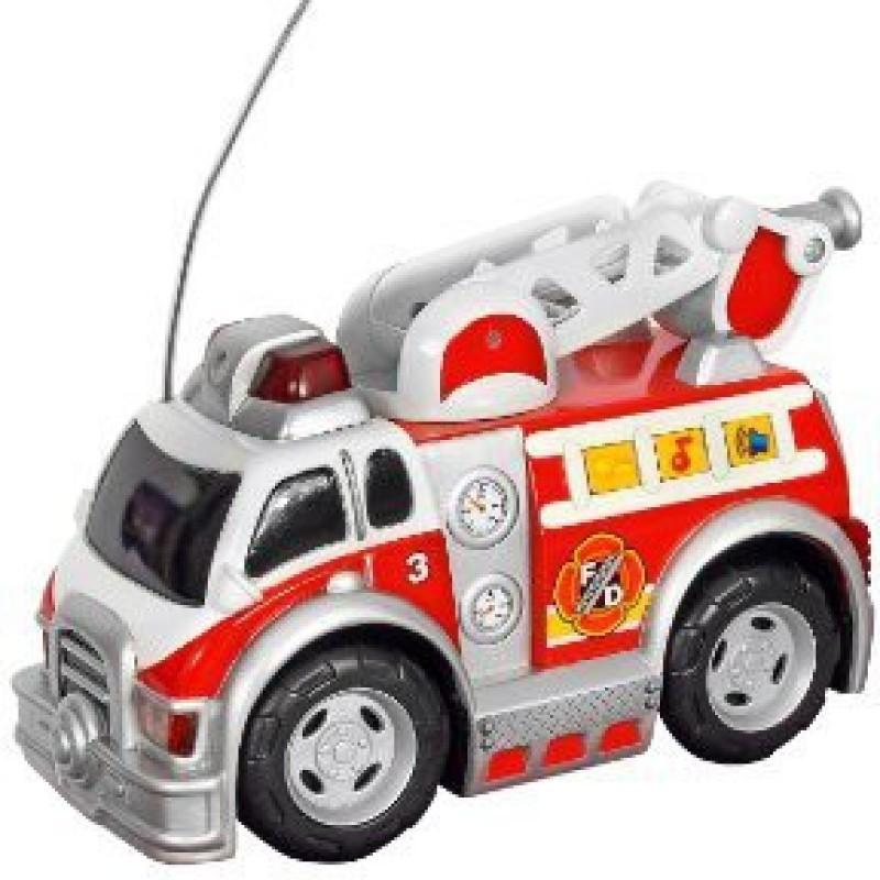 Toystate Road Rippers Preschool Radio Control Rush and Rescue: Fire Ladder Truck(Multicolor)