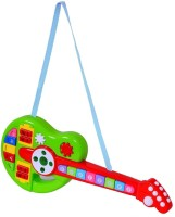 Turban Toys Cartoon Musical Interactive Guitar for Kids(Multicolor)