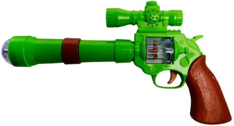 Ktkashish Toys Kashish Projection Strik Electronic Gun.(Grey)